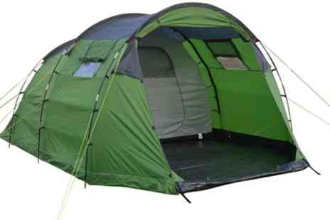 Groupon Goods Global GmbH - Charlies Outdoor Leisure Berwyn Five Person Tent With Free Delivery - Save 0%
