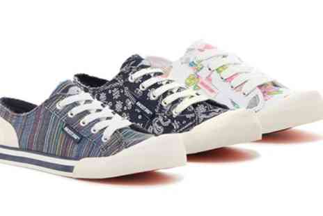 Groupon Goods Global GmbH - Rocket Dog Womens Jazzin Sneakers in Choice of Design - Save 56%