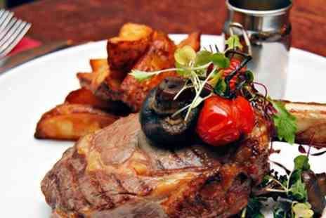 Cock And Bull Kitchen - Choice of Steak Meal with Side Each for Two or Four - Save 40%