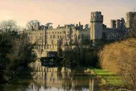 Premium Tours - Warwick Castle, Stratford, Oxford and The Cotswolds Tour for Child or Adult from Premium Tours - Save 52%