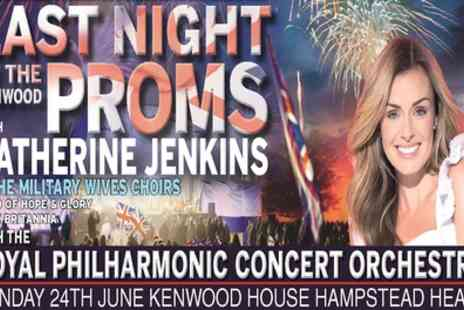 GCE Live - Katherine Jenkins plus special guests The Military Wives Choir plus the RPCO on 24 June - Save 20%