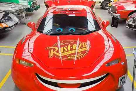 London Motor Museum - London Motor Museum stay with Cars 3s Lightning McQueen & more - Save 56%