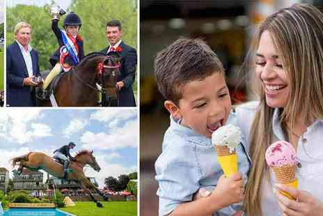 Hickstead - A Great Family Day Out Showjumping, Fairground Rides, Fun and Games - Save 50%