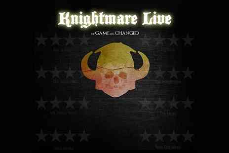 Ingresso - Knightmare Live at the Underbelly Festival - Save 0%