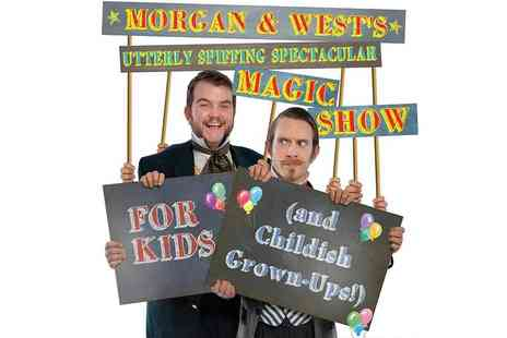 Ingresso - Morgan & Wests Utterly Spiffing Spectacular Magic Show For Kids at the Underbelly Festival - Save 0%