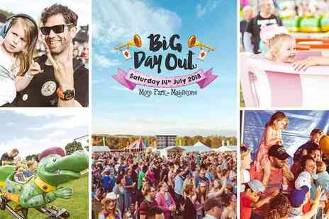 Big Day Out Festival - Amazing Acts, TV Favourites, Family Activities and Workshops + So Much More - Save 27%