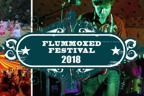 Flummoxed Festival - Early Bird Tickets Flummoxed Festival 2018 - Save 20%
