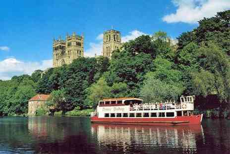Prince Bishop River Cruiser - Durham Sightseeing Cruise for Two - Save 50%