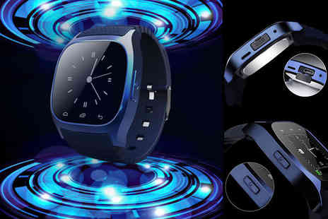 Ugoagogo - Rm26 android smart watch choose from black or blue - Save 88%