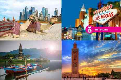Weekender Breaks - Spectacular mystery getaway with flights holidays include Bali, New York, Dubai, Mallorca and more - Save 0%