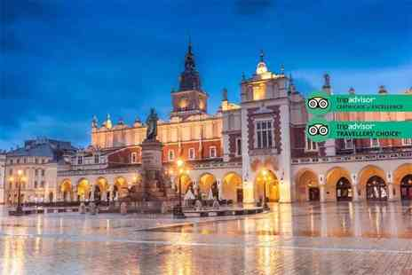 Weekender Breaks - Two or three night Krakow city break with return flights - Save 27%
