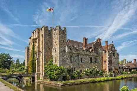Hever Hotel - Overnight Hever, Kent stay with three course dinner, bottle of Prosecco, leisure access and breakfast - Save 0%
