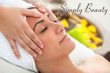 Simply Beauty - Choice of Five Luxury Facials and Two Touch Therapies such as Hand and Foot Massages - Save 60%