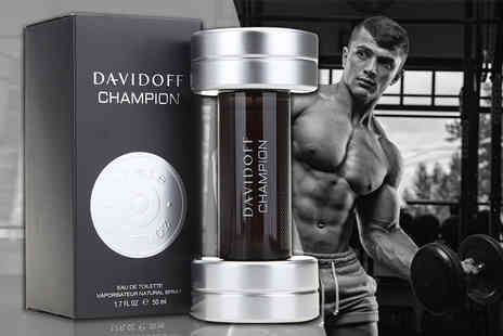 Deals Direct - 50ml bottle of Davidoff Champion EDT - Save 49%