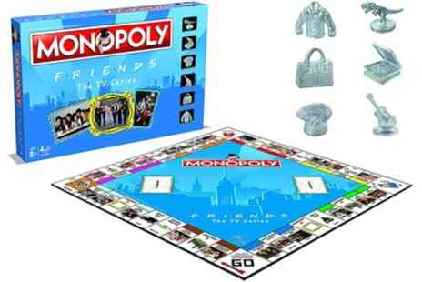 Groupon Goods Global GmbH - Winning Moves Monopoly Friends Edition - Save 0%