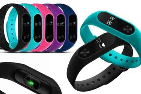 Groupon Goods Global GmbH - Aquarius AQ112 Fitness Tracker with HRM for Kids and Adults in Choice of Colour - Save 71%