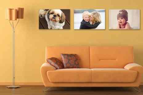 Your Image on Canvas - Personalised Canvas in a Choice of Size - Save 77%