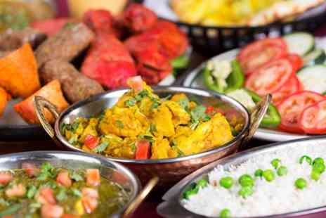 Moghul Restaurant - Two Course Indian Meal with Rice and Drink for Two or Four - Save 36%