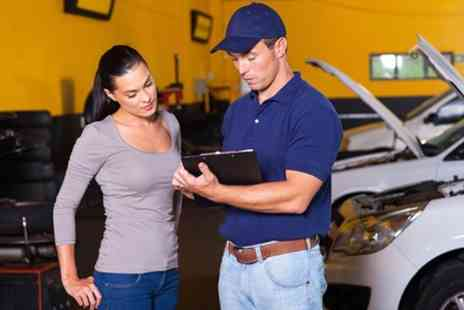 Triumph Road tyres - Car Service With Oil Change Plus Wash - Save 67%