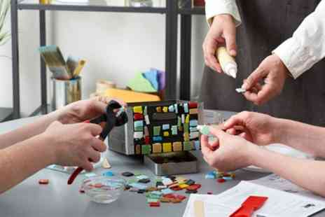 Craft Cafe - Craft Activity with Drink for One or Two - Save 56%