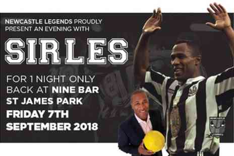 Newcastle Legends - One ticket to An Evening with Les Ferdinand on 7 September - Save 78%