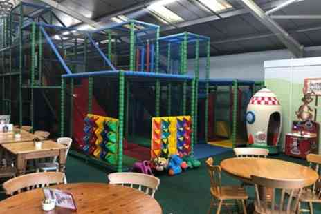 Luckys Play Barn - Soft Play Entry with Soft Drink for One or Two Children - Save 17%