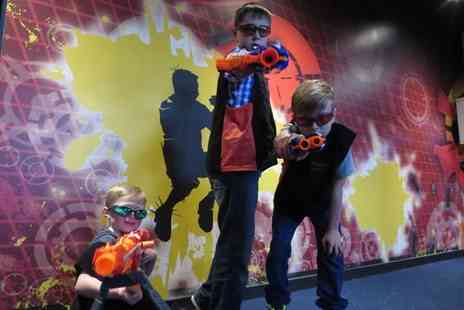 Gullivers - Ticket to NERF Zone - Save 50%