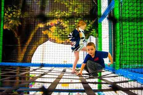 Kidz Fantasy Land - Soft play and a jug of juice for two or four children - Save 50%