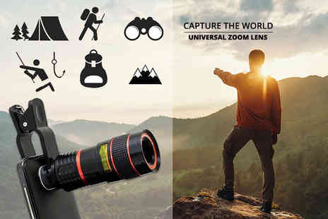 Charles Oscar - Universal zoom lens for smart phones - Save 81%