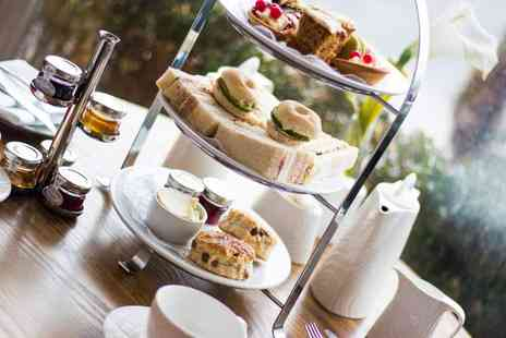 Dover Marina Hotel - Afternoon tea for two people with a glass of bubbly each - Save 52%