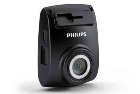 Groupon Goods Global GmbH - Philips ADR610 Dash Camera With Free Delivery - Save 20%
