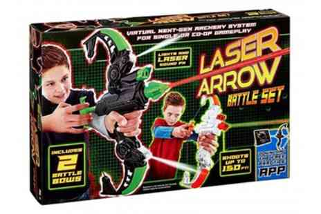 Groupon Goods Global GmbH - Vivid Imaginations Laser Arrow Battle Set - Save 52%