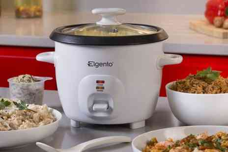 Groupon Goods Global GmbH - Elgento Four Cup 500W Rice Cooker - Save 55%