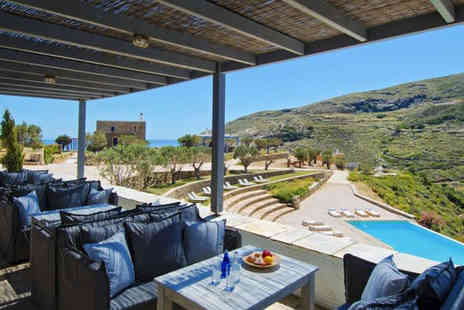 Aegea Blue Cycladic Resort - Four Star Boutique Athens Hotel Stay For Two with Infinity Pool - Save 43%