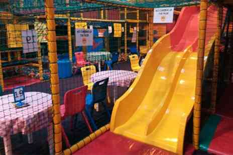 Zone Play Cardiff - Soft Play Entry with Drink for Up to Four - Save 59%