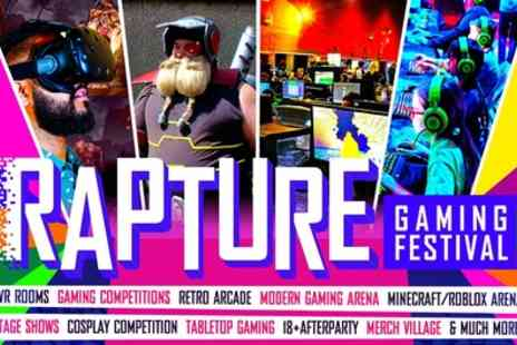 Kilimanjaro Live - Rapture Gaming Festival, Saturday or Sunday Ticket on 21 July to 14 October - Save 35%