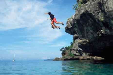 King Coasteer - Two Hour Coasteering for One or Two - Save 25%