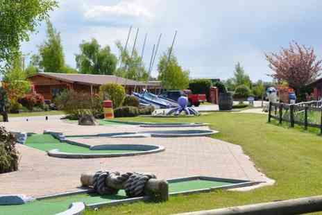 Bosworth Water Trust - Family outing with crazy golf and snacks for four - Save 0%