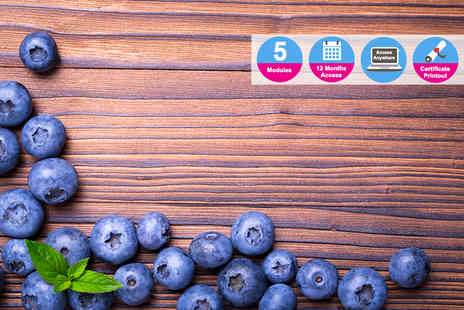 Enjoy Online Courses - Nutrition, superfoods and wellbeing course - Save 82%
