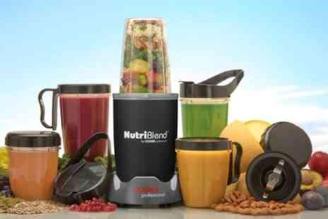 Groupon Goods Global GmbH - Cooks Professional 700W Nutriblend With 10 or 15 Accessories - Save 70%