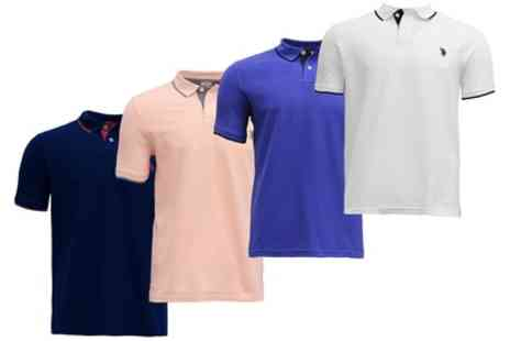 Groupon Goods Global GmbH - U.S. Polo Assn. Mens Polo Shirt - Save 0%