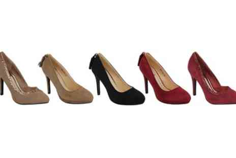 Groupon Goods Global GmbH - Womens Suede Stiletto Heels - Save 0%