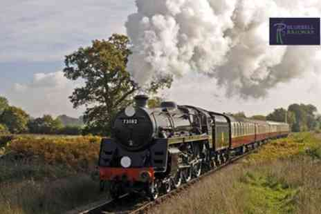 Bluebell Railway - Full Day Travel Railway Steam Train Ticket for Adults or Adults with Children - Save 29%
