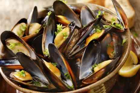 Mharsanta - Moules et Frites with a Choice of Sauce for Two or Four - Save 50%
