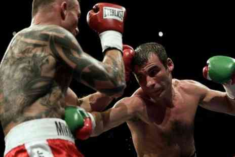 Calzaghe At the Dome - One silver ticket to see Joe Calzaghe on Friday 20 July - Save 25%