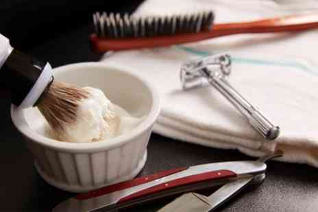 The Gentry Grooming Co - Cut Throat Shave with Choice of Pampering Treatments - Save 67%