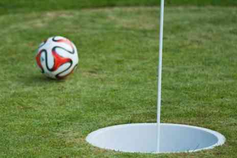 Blacknest Golf & Country Club - 6 Hole Game of Footgolf for Two or Family of Four - Save 54%