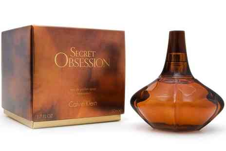 Groupon Goods Global GmbH - Calvin Klein Secret Obsession Eau de Parfum 50ml - Save 0%