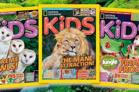 National Geographic Kids - National Geographic for Kids Annual Subscription Fascinating and Fun for Ages 6 plus - Save 25%