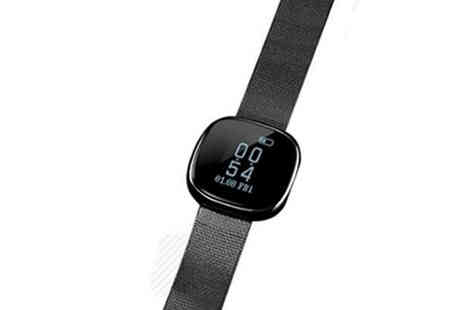 Best mall ever - Smart Watch with Heart Rate And Blood Pressure Monitor Choose Three Colours - Save 75%